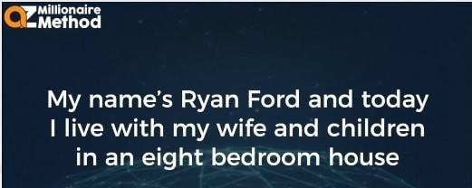 Ryan Ford Founder Of AZ Millionaire Method