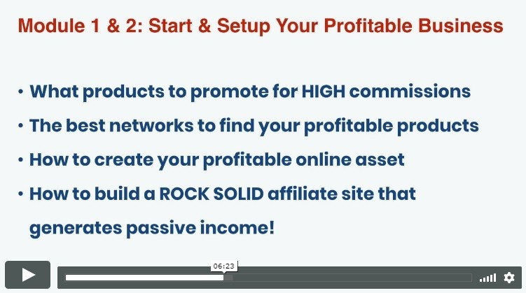 Savage Affiliates Training Modules