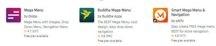 Mega Menu Shopify Theme Alternative