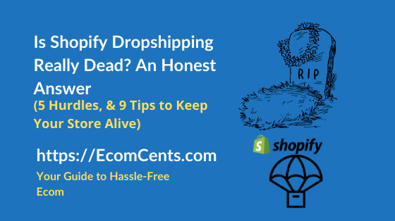 Is Dropshipping on Shopify Dead