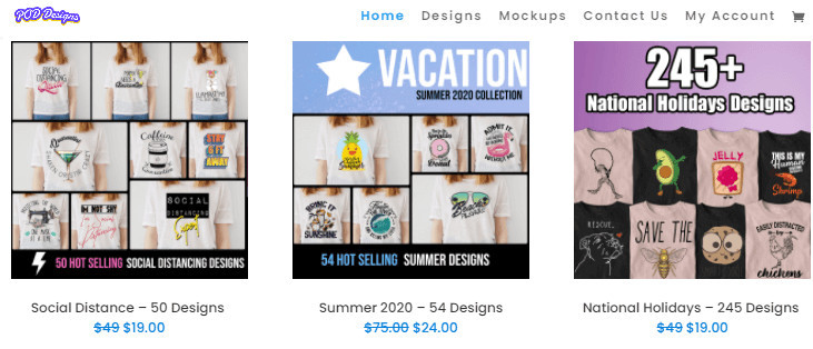 Designs for Shopify Merch Stores