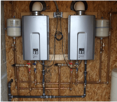 Hot Water On Demand with Tankless Heaters