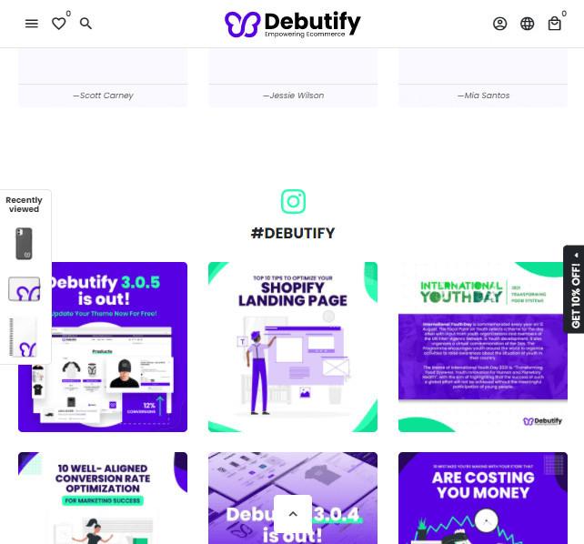 Debutify Single Product Shopify Store