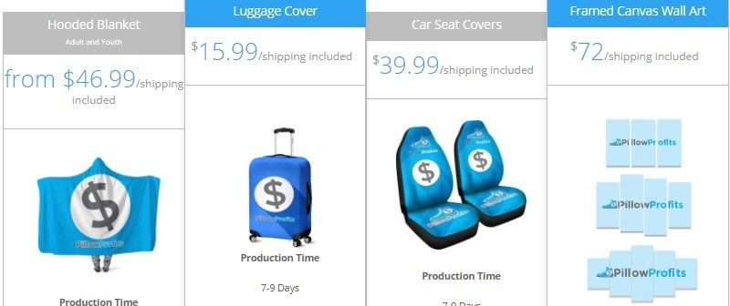Print On Demand Luggage Cover, Car Seat Covers, Framd Canvas Wall Art