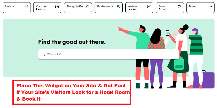 Make Money As a Tripadvisor Affiliate