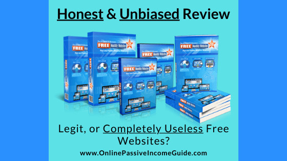 Honest Free Monthly Websites Review