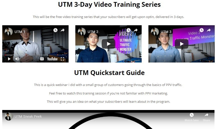 Ultimate Traffic Monster Free Training & Discount