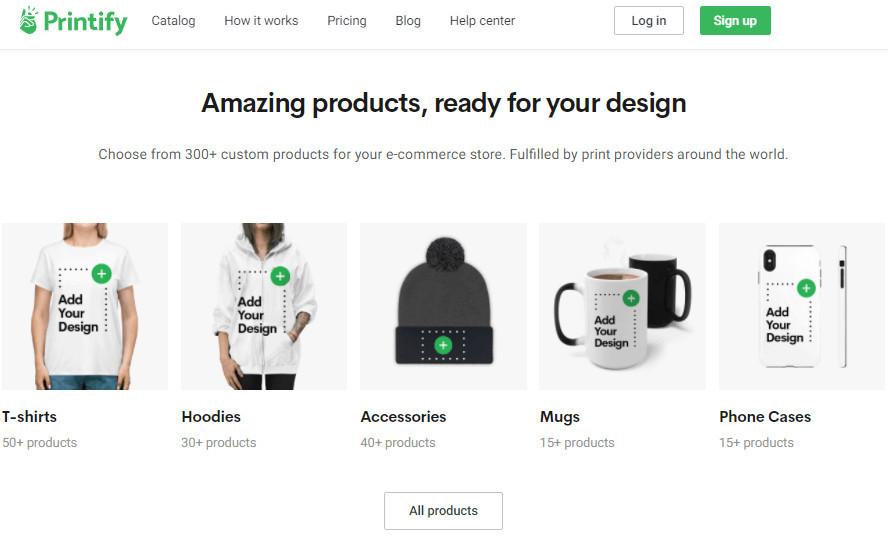 Printify Alternative to Amazon Merch