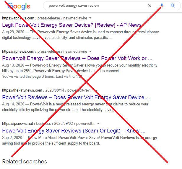 Biased PowerVolt Device Reviews
