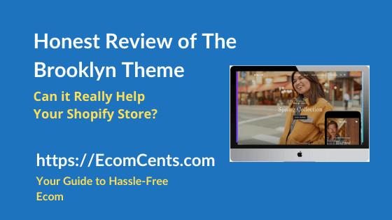 Shopify Brooklyn Theme Review