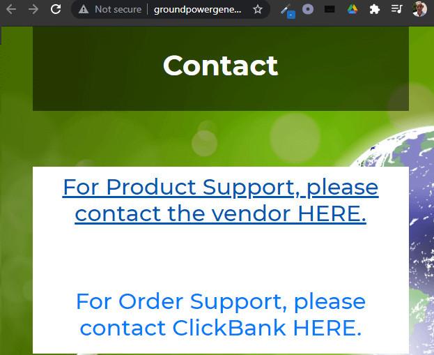 Ground Power Generator Support
