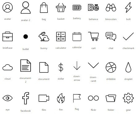 Icons For Shopify Flex Theme