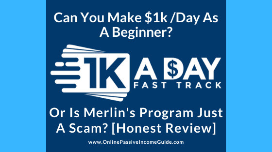 Best Offers  1k A Day Fast Track Training Program