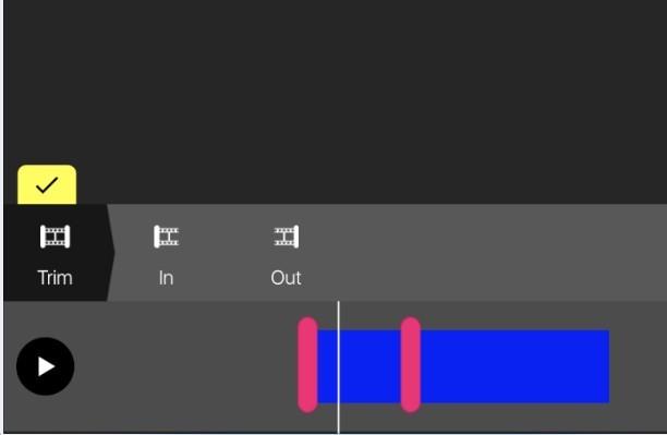 Pocket Video trim editor