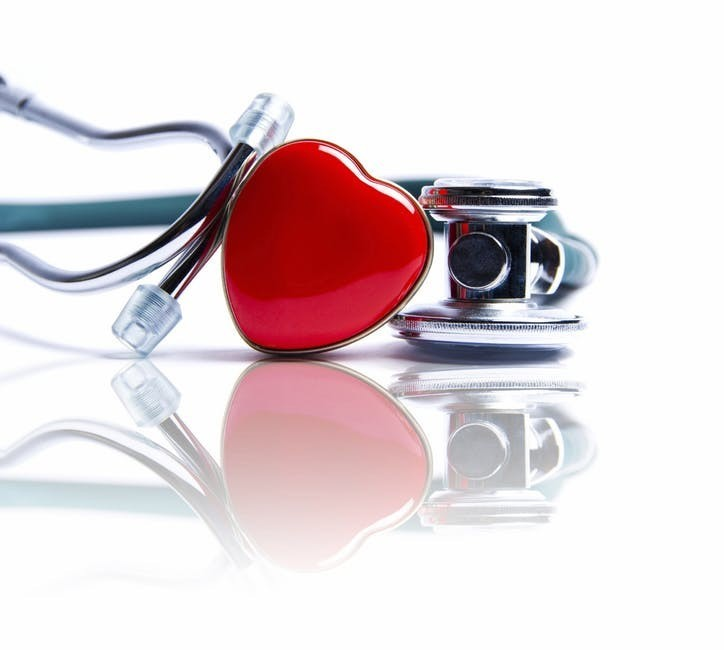 picture of heart and stethoscope