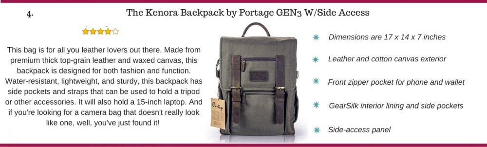 The Kenora backpack by Portage
