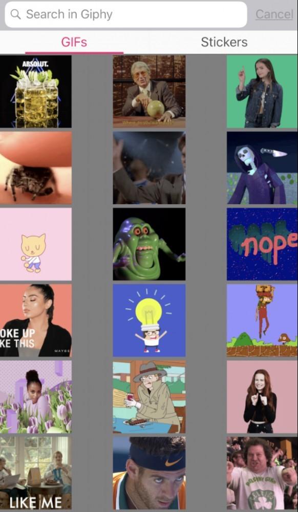 Pocket Video gif options