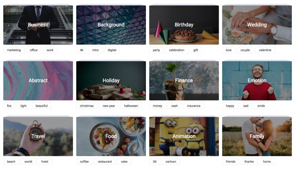 FlexClip Video Maker Review - Stock Video
