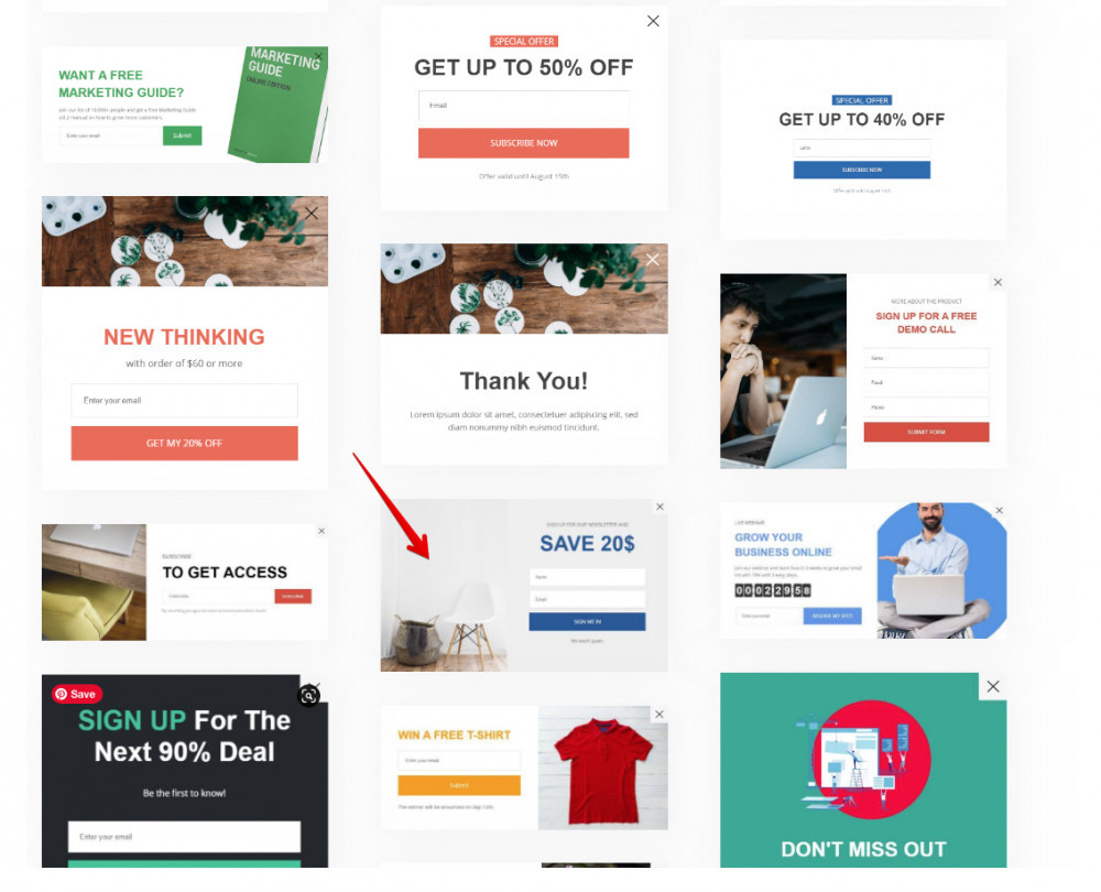 How To Create A Popup - Popup Templates