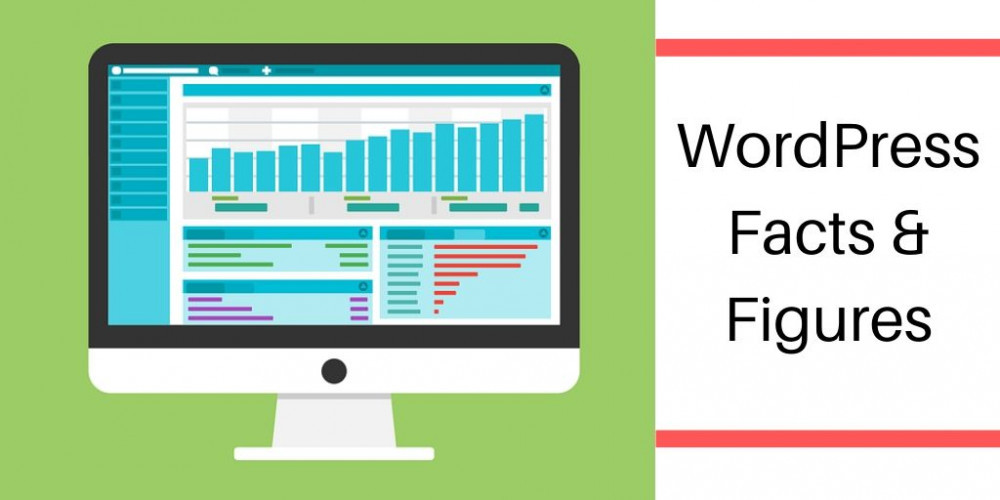 WordPress Facts And Figures - Computer Monitor