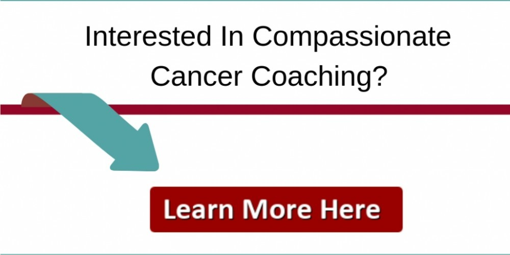 Compassionate Cancer Coaching Banner