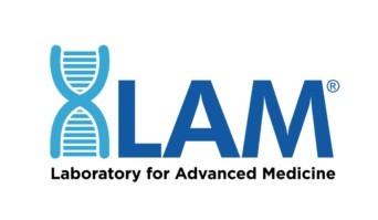 LAM laboratory for advance medicine logo