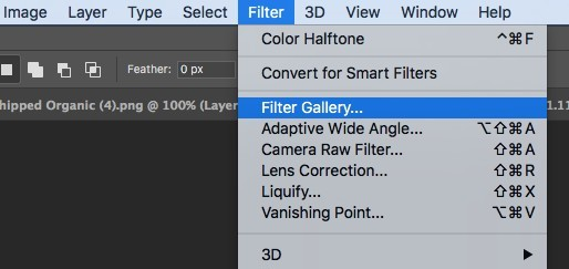 filter layer in photoshop