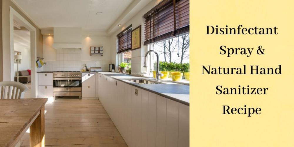 Natural Hand Sanitizer - White Kitchen