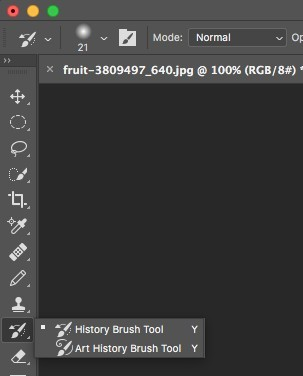 history brush tool in photoshop