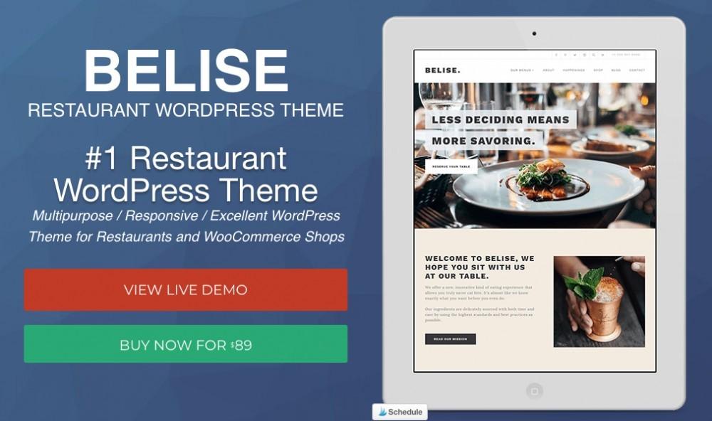 Belise WordPress theme