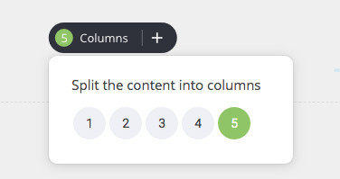 How To Create A Popup - Splitting Columns