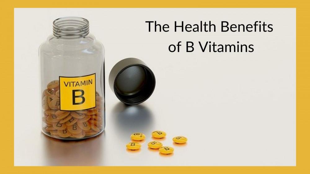 The Health Benefits Of B Vitamins - B Vitamin Bottle