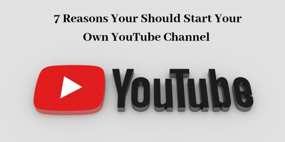 Start Your Own YouTube Channel - Graphic