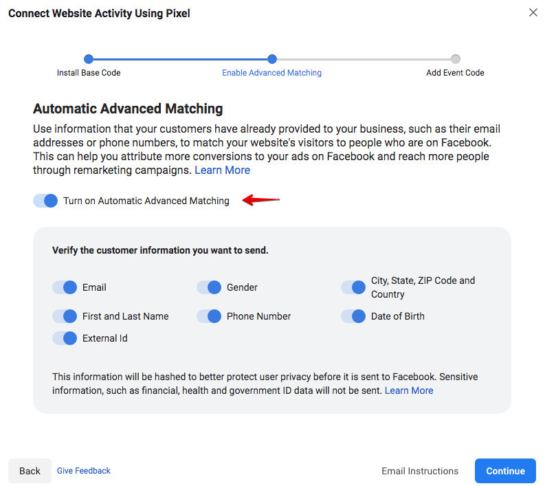 How To Install A Facebook Pixel - Connecting Website To Pixel