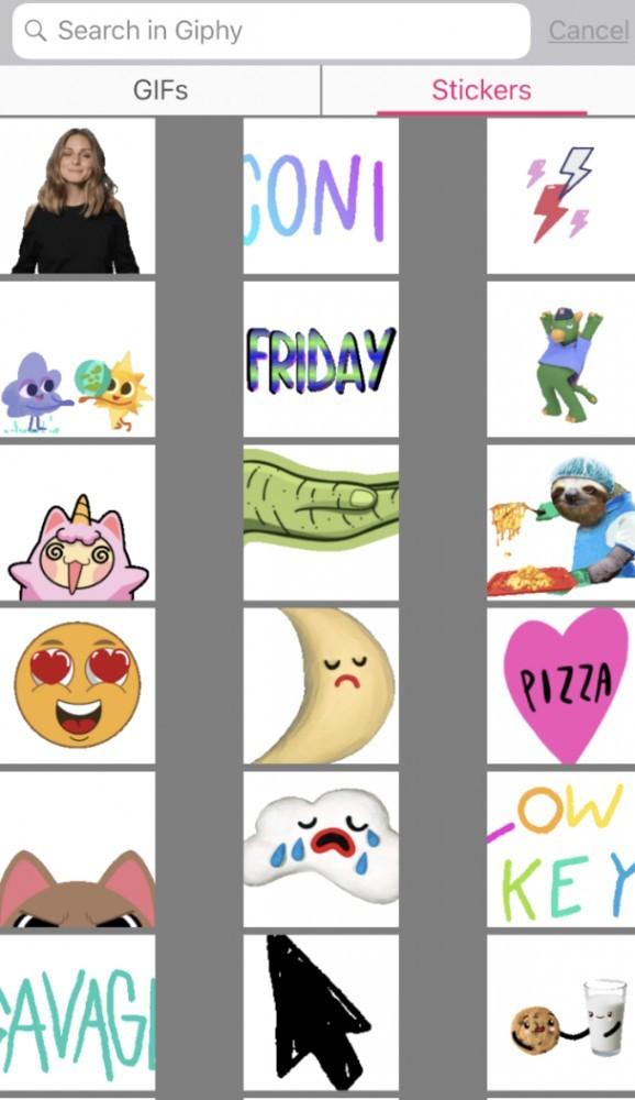 Sticker editor in Pocket Video
