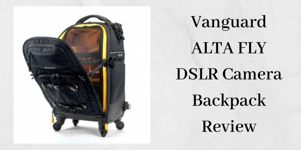 Vanguard alta fly dslr camera backpack