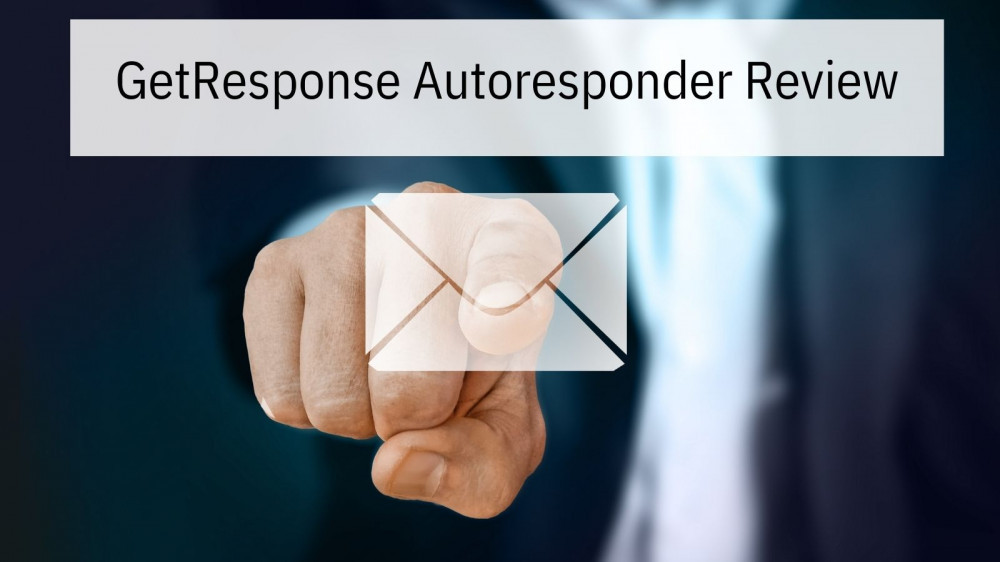 GetResponse Autoresponder Review - Finger on Envelope