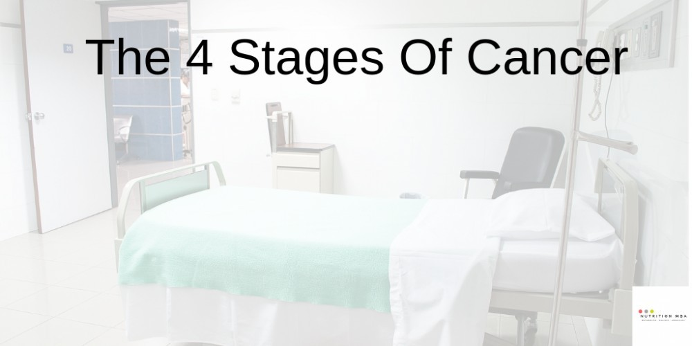 the 4 stages of cancer banner