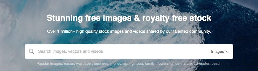 pixabay home page