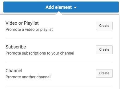 end screen in youtube