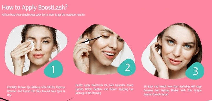 how to apply boostlash