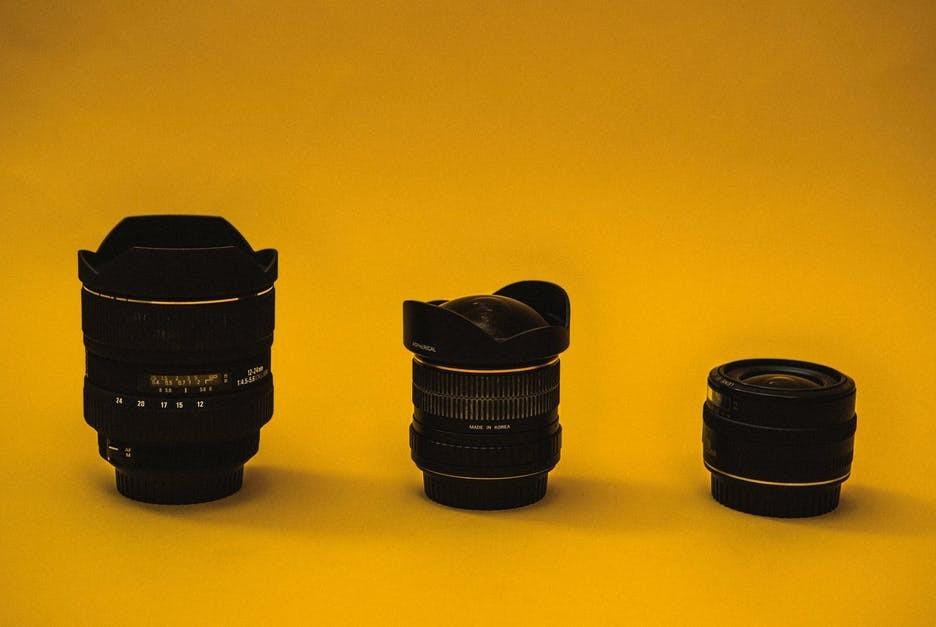 3 canon lenses