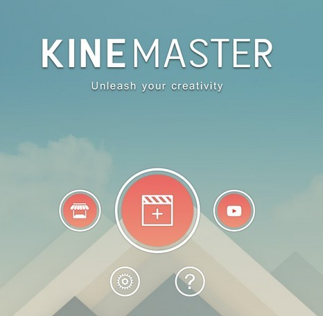 KineMaster front page