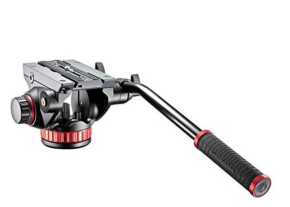 Manfrotto video head