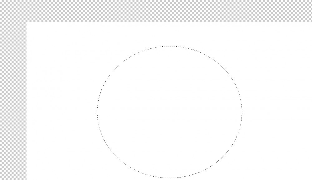 elliptical marquee tool in photoshop