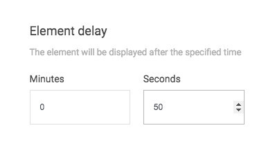How To Create Popups - Element Delay Box
