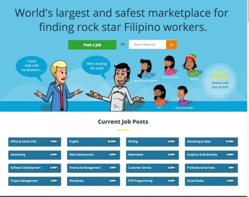 How To Find Virtual Assistant - Filipino Workers Graphic
