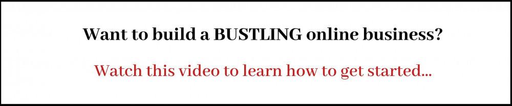 Build A Bustling Online Business Banner
