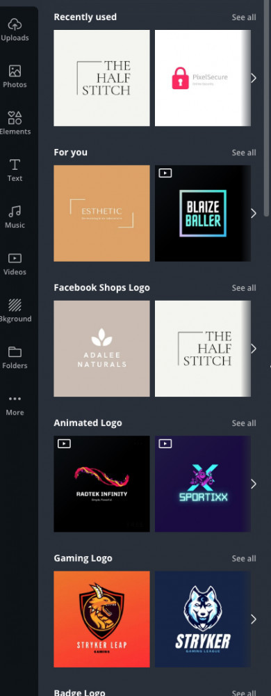 How To Create A Logo In Canva - Logo Templates