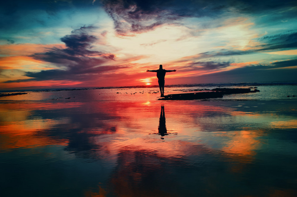 The Home Business Academy Review - Man On Beach At Sunset